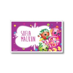 Label cards - Shopkins