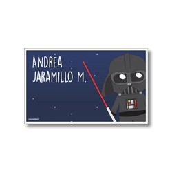 Label cards - star wars