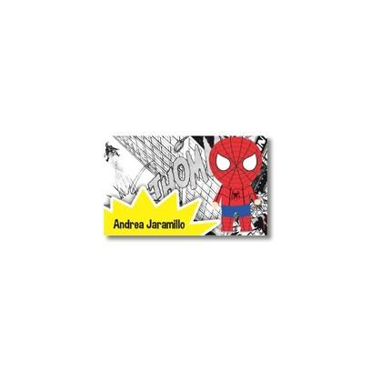 Tarjetas de presentación - Super heroes