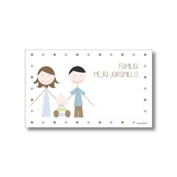 Label cards - brothers