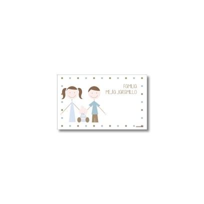 Tarjetas de presentación - Familia