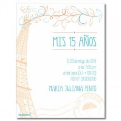 c0288 fucsia - Birthday invitations - Holliwood