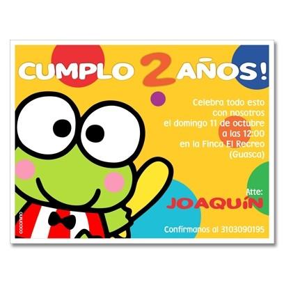 c0297 - Birthday invitations - Futbol