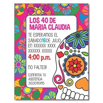 c0327 - Birthday invitations - Motorcycle