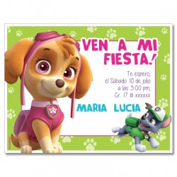 c0329- Birthday invitations - Mexico