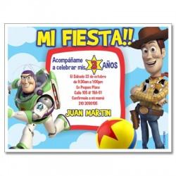 Invitaciones de cumpleaños - Toy Story
