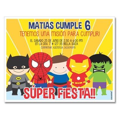 c0348 - Birthday invitations - Moana