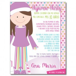 c0366 - Birthday invitations - Princess Aurora