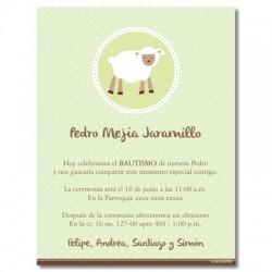 Invitaciones - Bautizo