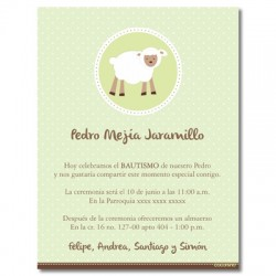 Baptism Invitations