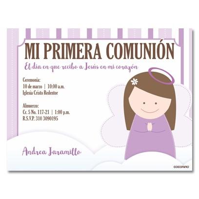 b0029 C - Invitaciones Primera Comunion