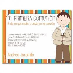 b0054 - Invitaciones - Primera Comunión