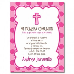 b0055 C - Invitations - Baptism