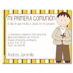 b0054 - Invitations - First Comunion