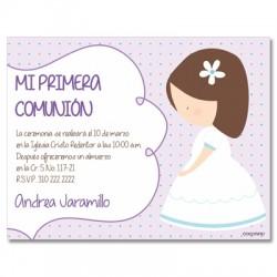 b0073 - Invitations - First communion