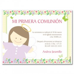 b0109 - Invitations - First communion