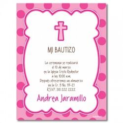 b0055 b azul - Invitations - Baptism