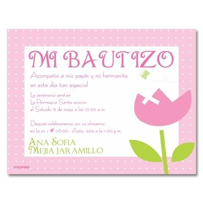b0001 b - Invitaciones - Bautizo - foto
