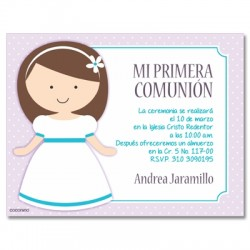 b0072 - Invitations - First communion