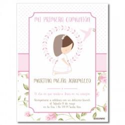 b0157 - Invitaciones - Primera comunión
