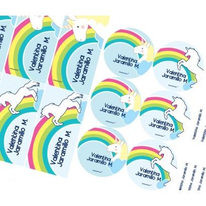 KE0182 - Kit Escolar - Unicornios