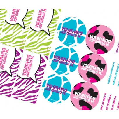 KE0184 - Kit Escolar - Animal Print
