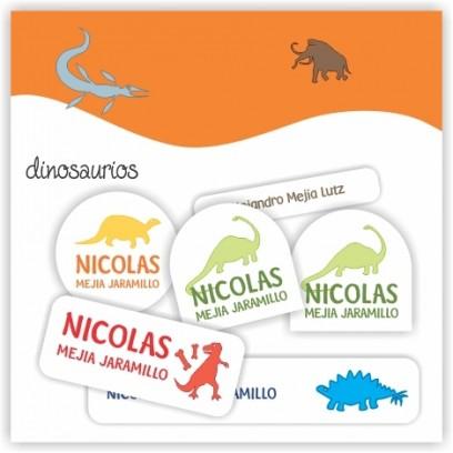 vc0015 - Kit Marca tus cosas - Dinosaurios