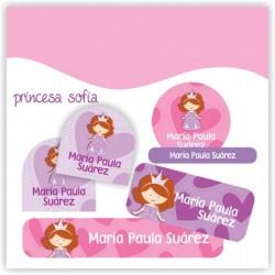 vc0029 - Kit Marca tus cosas - Princesa Sofia