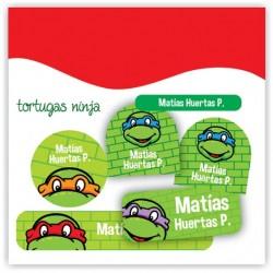 vc0032 - Kit Marca tus cosas - Tortugas Ninja