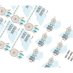 KE0189 Azul - Kit Escolar - Atrapasueños