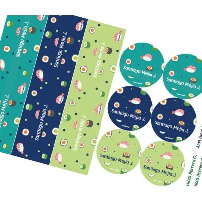 KE0208O - Kit Escolar - sushi