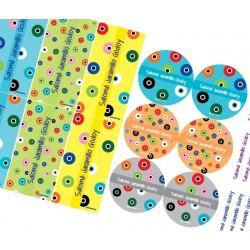 KE0219 Colores - Kit Escolar - Ojos Turcos