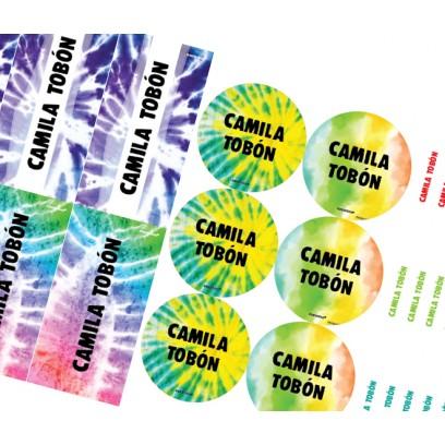 KE0241 Niña - Kit Escolar Tie Dye