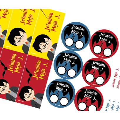KE0245 - Kit Escolar Harry Potter