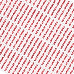 Etiquetas autoadhesivas para lápices - EAL0003 Rojo
