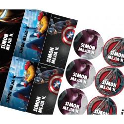KE0247 - Kit Escolar Avengers