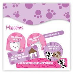 vc0052 - Kit Marca tus cosas - Mascotas