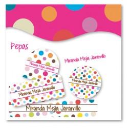 vc0053 - Kit Marca tus cosas - Pepas