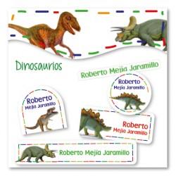 vc0058 - Kit Marca tus cosas - Dinosaurios