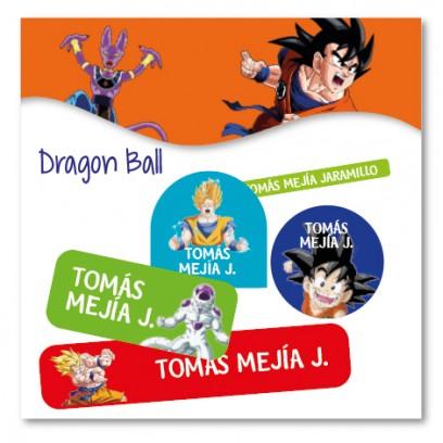 vc0060 - Kit Marca tus cosas - Dragon Ball