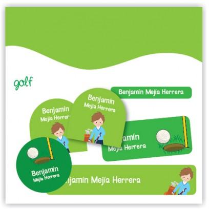 vc0065 - Kit Marca tus cosas - golf