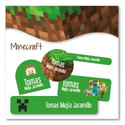 vc0066 - Kit Marca tus cosas - Minecraft