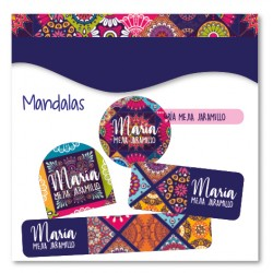 vc0068 - Kit Marca tus cosas - Mandalas