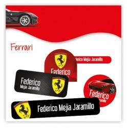 vc0070 - Kit Marca tus cosas - Ferrari