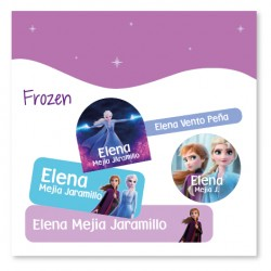 vc0071 - Kit Marca tus cosas - Frozen