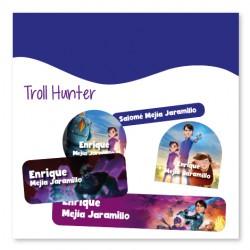 vc0076 - Kit Marca tus cosas - Troll Hunter