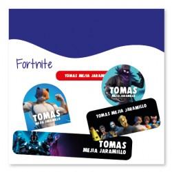 vc0078 - Kit Marca tus cosas - Fortnite
