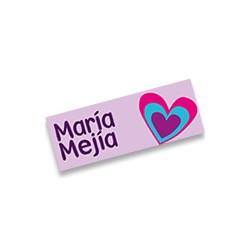 mrt0024 Violeta - Marca ropa - Corazones