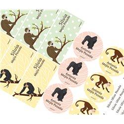 KE0255 - Kit Escolar Monos