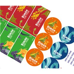 KE0256 - Kit Escolar Dragones